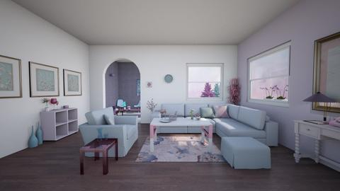Lavender Room - Modern - Living room  - by Sophia Cooper