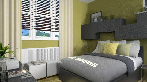 PDM1980 BR - Modern - Bedroom  - by channing4
