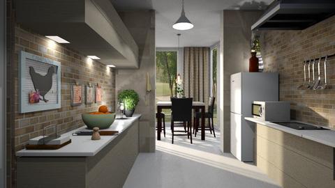 Paul_1 - Kitchen  - by ZuzanaDesign
