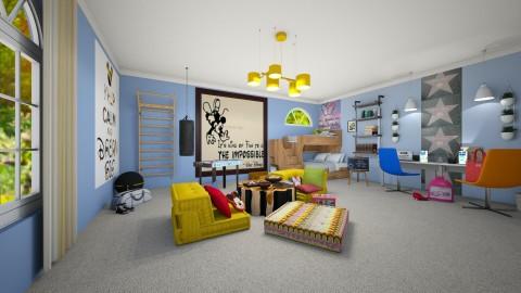 Mickey - Kids room  - by Yana Baliashvili