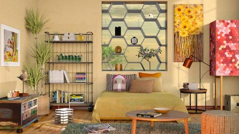 Beehouse Inspired House - Eclectic - Living room  - by Sally Simpson