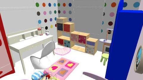banjavčićeva kat-ida - Eclectic - Kids room  - by tatjana_novak