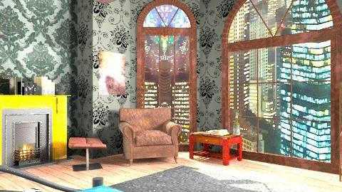Hogwart - Vintage - Bedroom  - by veronasdrug