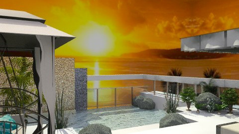 SUNSET... - Modern - Garden  - by KittiFarkas