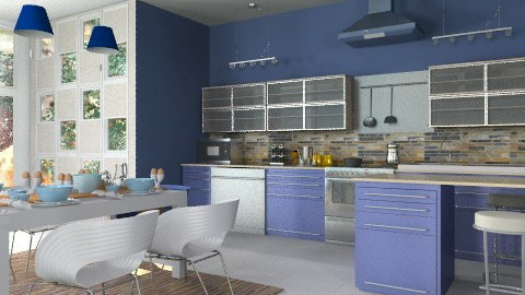 Cooking privileges - Modern - Kitchen  - by liling