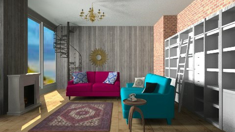 reading room  - Modern - by bethany81