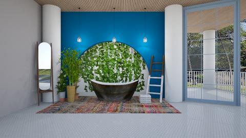 Bathing in Greece - Bathroom  - by gretchen2005