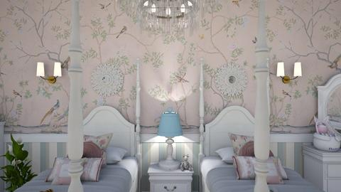 Twin Room Close Up 1A - Kids room  - by Fofinha