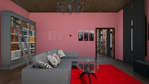 semi-gotich bedroom - Bedroom  - by Scarlett Evans