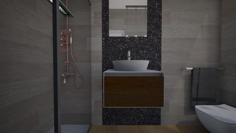 Cologno bagno ospiti25 - Bathroom - by natanibelung