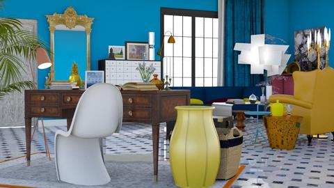 Where old meets new - Eclectic - Living room  - by HenkRetro1960