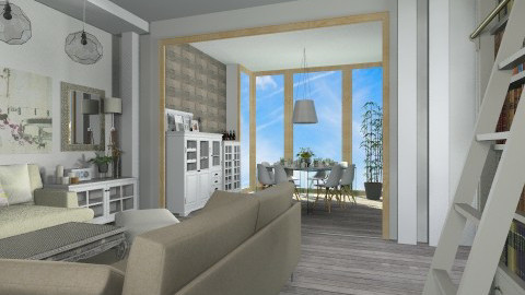 876946 - Eclectic - Living room - by celavia