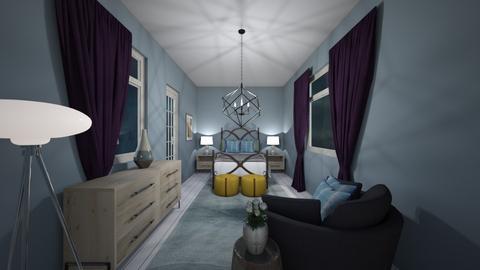 sea side  room - Eclectic - Bedroom  - by decordiva1
