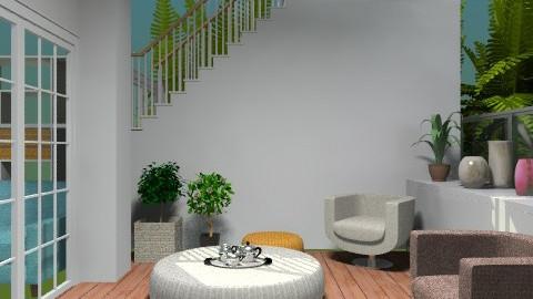 Terrace- - Modern - Garden  - by milyca8
