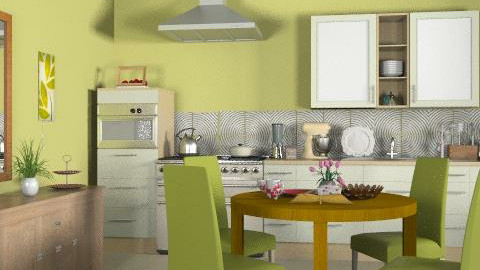 Tradicional kitchen_2 - Classic - Kitchen  - by Laurika