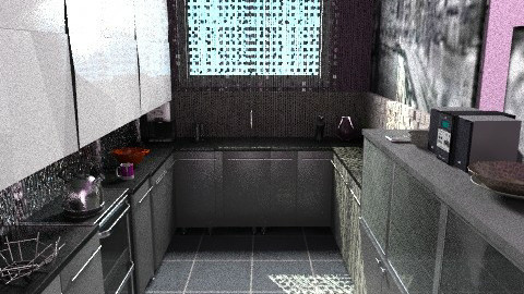 small kitchen - Modern - Kitchen - by pyksio