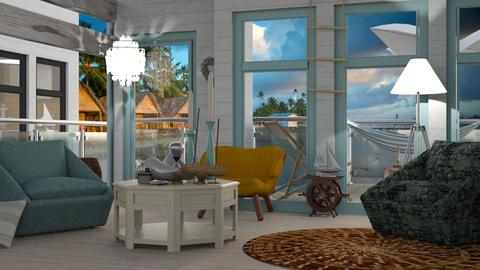 Shoreline - Modern - Living room  - by Gurns