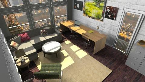 Warehouse Office - Modern - Office  - by lauren_murphy