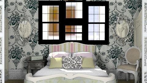 Vintage chic bedroom - Vintage - Bedroom  - by savannah_turner