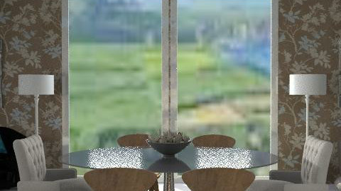 LizyD plain background - Classic - Dining room - by roshni