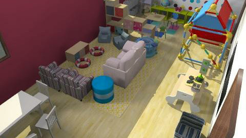 ici daycare v2 - Vintage - Kids room - by mehar