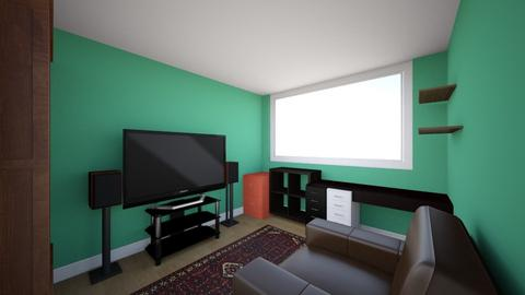 Room before - Living room  - by bromie