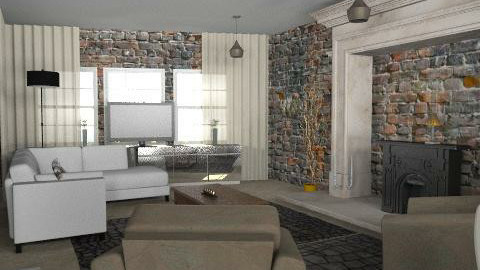 trees warehouse - Rustic - Living room  - by trees designs