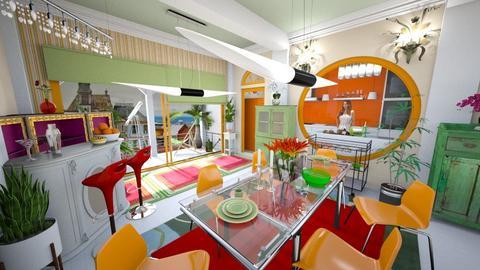 playful1 - Kitchen - by iamthearchitect