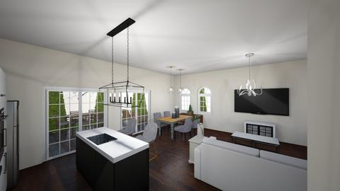 New house 10 - Kitchen - by Niva T