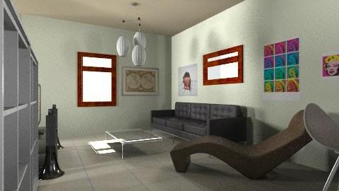 living - Minimal - Living room - by bidago