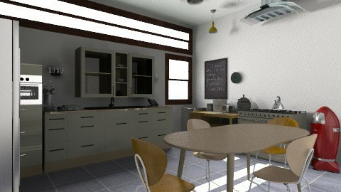 purty - Eclectic - Kitchen  - by judimay11