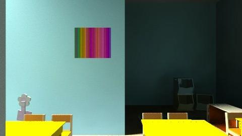 JK - Eclectic - Kids room  - by juditseb