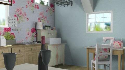 trr - Rustic - Kitchen  - by nenaa