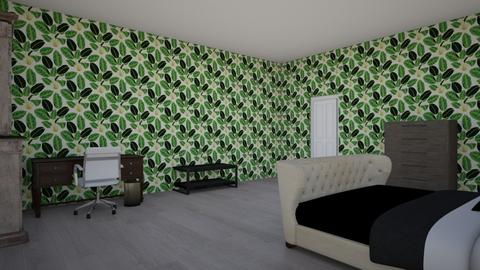 My room for school - Modern - Bedroom  - by Michelle_981