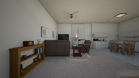 Assisted Living Space - Living room  - by WestVirginiaRebel