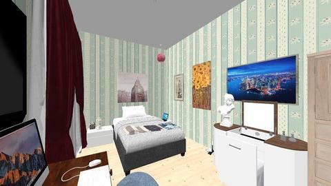 My bedroom - Bedroom  - by Namitsuki