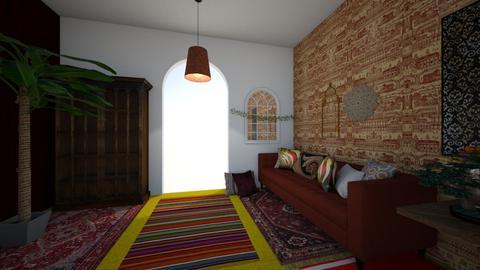 Morroco - Living room  - by Sarah_Russellllllllll