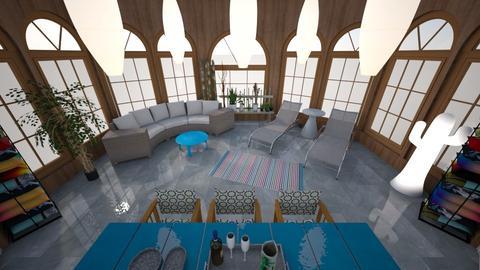 Pool House - Modern - Garden  - by KajsaRain