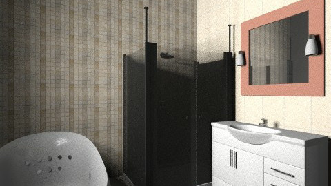 BrownBeige - Classic - Bathroom  - by SzKitti10