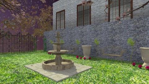 Juliet Balcony - Rustic - Garden  - by HGranger2