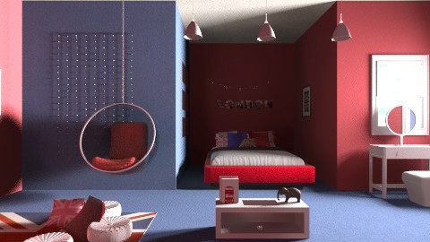 london bedroom - Country - Bedroom  - by silac26