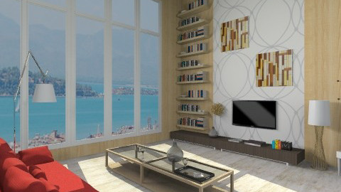 living room  - Country - Living room  - by ostwany_aboud