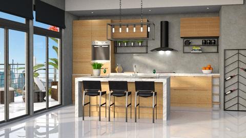 kitch wood - Kitchen  - by soralobo