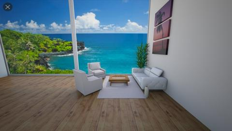 Big Windows - Living room  - by Hamzah luvs cats