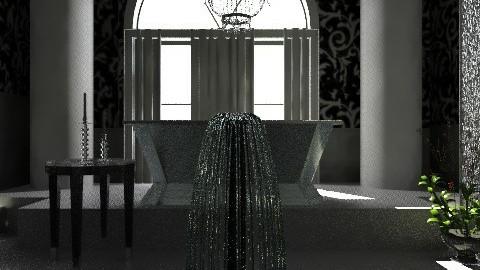Salle de Bain - Glamour - Bathroom  - by PomBom