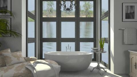 Luxurious Bath - Glamour - Bathroom  - by snacks