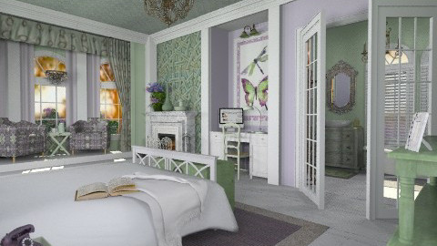 Mint Julep - Feminine - Bedroom  - by starsector