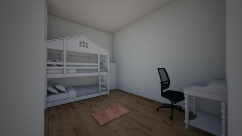 lucy room - Bedroom  - by Binh Jr Truong