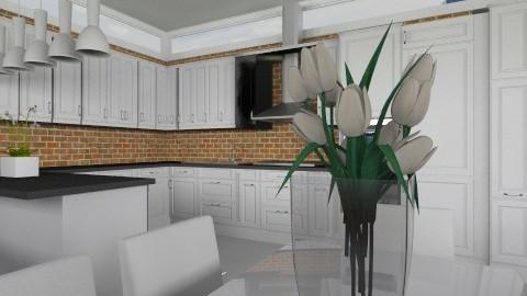 Kitchen002 - Modern - Kitchen  - by Ivana J