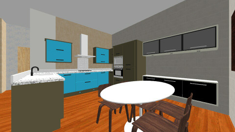 1 Bedroom 1 Bathroom  - Living room - by t_draws
